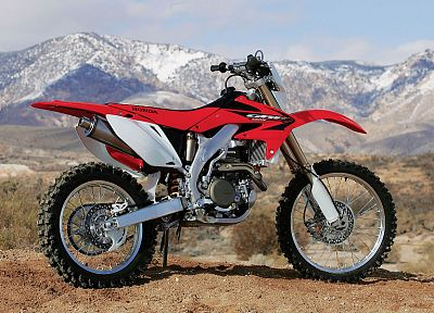 Honda, motocross, vehicles, motorbikes - random desktop wallpaper