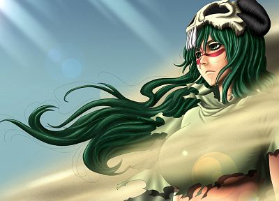 Bleach, Espada, Nelliel Tu Odelschwanck, anime, soft shading - desktop wallpaper