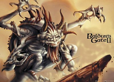 Baldurs Gate - random desktop wallpaper