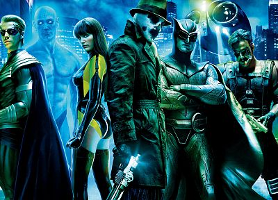 Watchmen, Rorschach, Silk Spectre, The Comedian, Nite Owl, Ozymandias - related desktop wallpaper