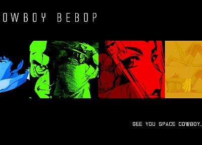 Cowboy Bebop, anime - related desktop wallpaper