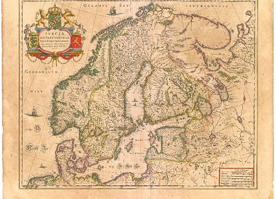 Sweden, Norway, maps, cartography, Scandinavia - desktop wallpaper