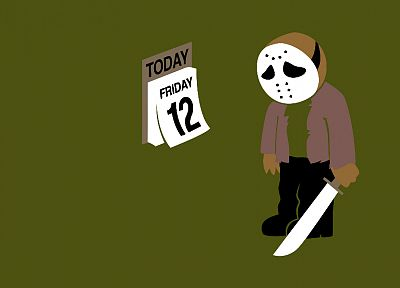Jason, Threadless, Friday the 13th, Jason Voorhees - random desktop wallpaper