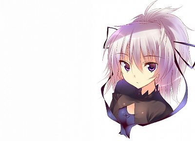 Darker Than Black, Yin, simple background - related desktop wallpaper