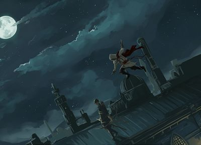 video games, Assassins Creed, artwork - related desktop wallpaper