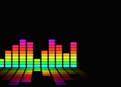 music, rainbows, colors - random desktop wallpaper