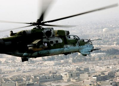 aircraft, military, helicopters, hind, vehicles, Mi-24 - related desktop wallpaper