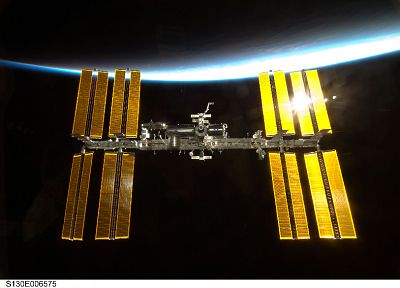 International Space Station - random desktop wallpaper