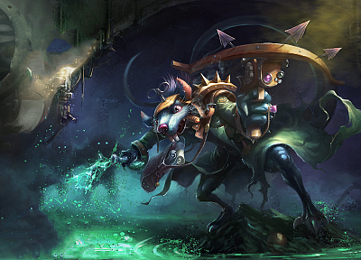League of Legends, Twitch - related desktop wallpaper