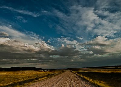 clouds, roads, skyscapes - random desktop wallpaper