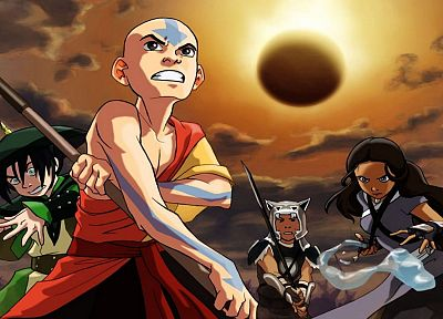 Avatar: The Last Airbender, Toph, Nickelodeon, Aang, Katara, Sokka - related desktop wallpaper