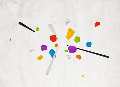 abstract, minimalistic, DeviantART - related desktop wallpaper