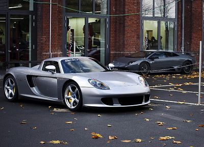 Porsche, cars, vehicles, Porsche Carrera GT - random desktop wallpaper