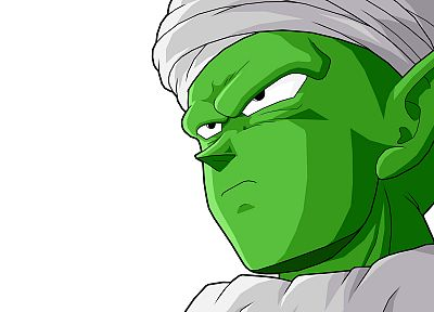 Piccolo, Dragon Ball Z, simple background - random desktop wallpaper