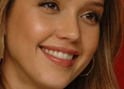 women, Jessica Alba, actress, faces - desktop wallpaper