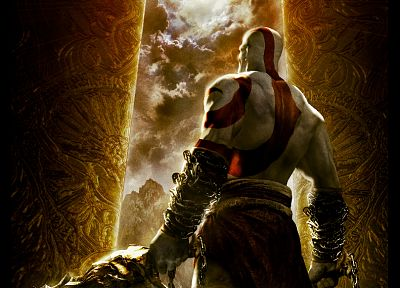 Kratos, God of War - related desktop wallpaper
