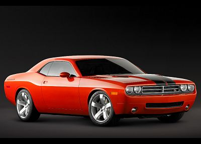 vehicles, Dodge Challenger - desktop wallpaper