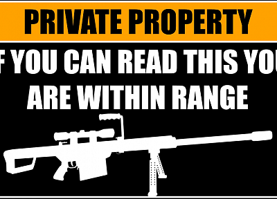guns, text, funny - random desktop wallpaper