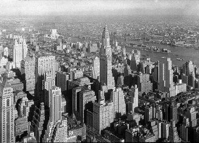 buildings, New York City, Manhattan, Chrysler, Chrysler Building - random desktop wallpaper