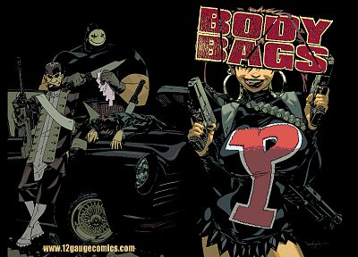 comics, artwork, Body Bags, Jason Pearson - random desktop wallpaper