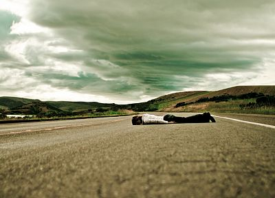 roads, planking - random desktop wallpaper