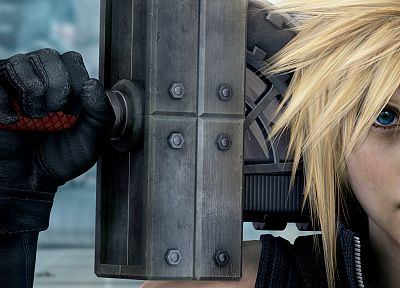 Final Fantasy, Final Fantasy VII Advent Children, Cloud Strife - random desktop wallpaper