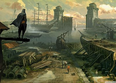 concept art, Assassins Creed Revelations - random desktop wallpaper