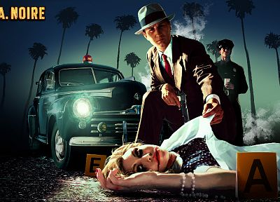 video games, L.A Noire, 3D - related desktop wallpaper