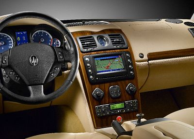 cars, Maserati, vehicles, dashboards, car interiors - random desktop wallpaper