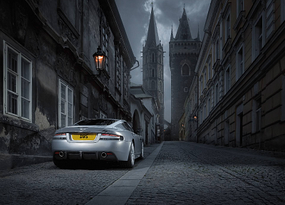 cars, gray, silver, Aston Martin DBS, DBS, Aston Martin - related desktop wallpaper