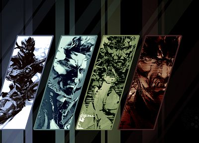 Metal Gear, video games, mgs, Metal Gear Solid, Solid Snake - desktop wallpaper
