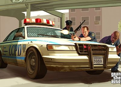 video games, Grand Theft Auto, GTA IV - random desktop wallpaper