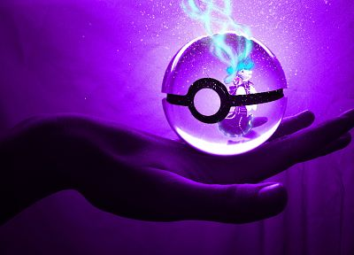 video games, Vocaloid, Hatsune Miku, Poke Balls - desktop wallpaper