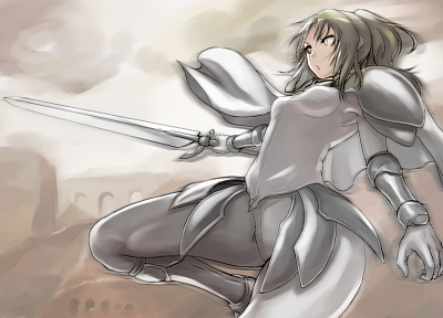 Claymore, Tea (artist) - random desktop wallpaper