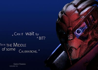 video games, quotes, Mass Effect, typography, Garrus Vakarian, Turian - random desktop wallpaper