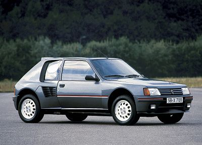 cars, Peugeot, vehicles, Peugeot 205, French cars, hot hatch - desktop wallpaper