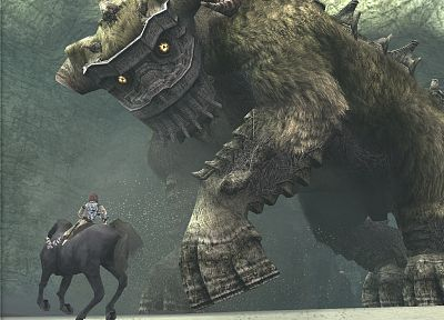 video games, shadows, Shadow of the Colossus, Quadratus - random desktop wallpaper