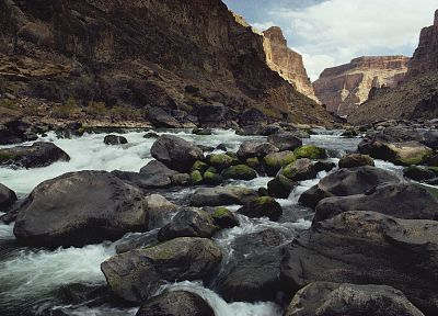 rocks, Grand Canyon, rivers, National Park - related desktop wallpaper