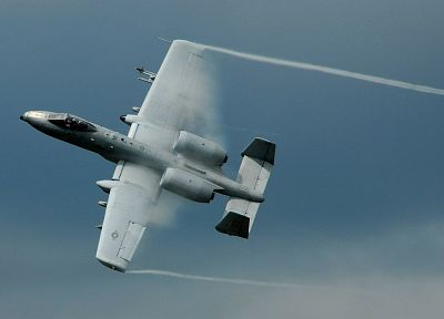 aircraft, military, planes, A-10 Thunderbolt II - desktop wallpaper