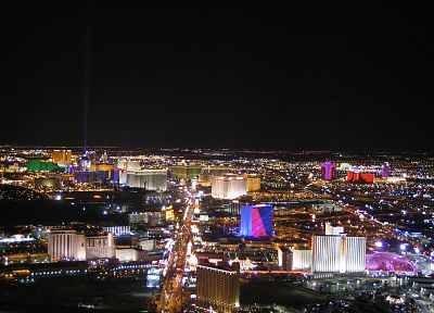 cityscapes, Las Vegas, buildings - desktop wallpaper