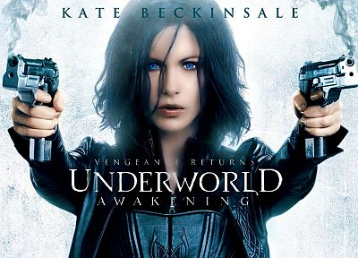 movies, Kate Beckinsale, Underworld, Underworld Awakening - random desktop wallpaper