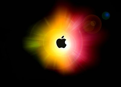 multicolor, Apple Inc., logos - random desktop wallpaper