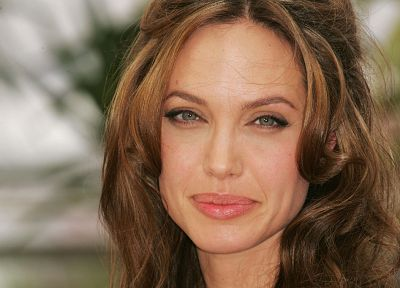women, Angelina Jolie, faces - related desktop wallpaper