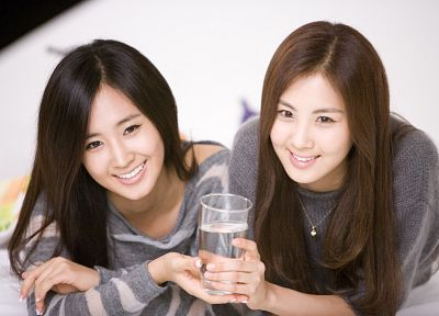 women, Girls Generation SNSD, celebrity, Seohyun, singers, Kwon Yuri - related desktop wallpaper