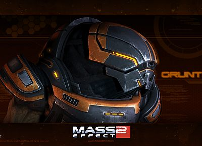 video games, grunt, Mass Effect 2 - random desktop wallpaper