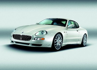 white, cars, Maserati, vehicles, Maserati Coupé - related desktop wallpaper