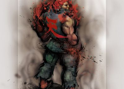 Street Fighter, Akuma - related desktop wallpaper