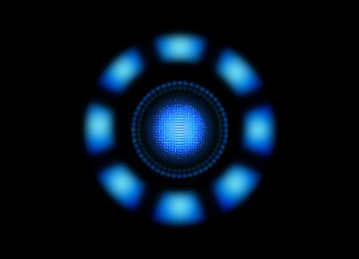 minimalistic, Iron Man, Arc reactor - related desktop wallpaper