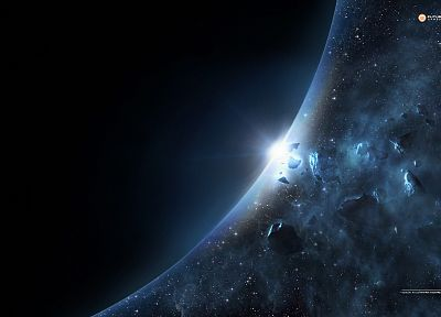 outer space - random desktop wallpaper
