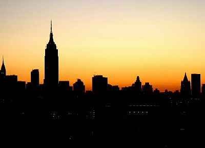 landscapes, New York City, Empire State Building, afternoon, cities - random desktop wallpaper